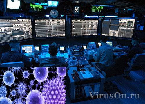 Вероятность заражения компьютерным вирусом АСУ.